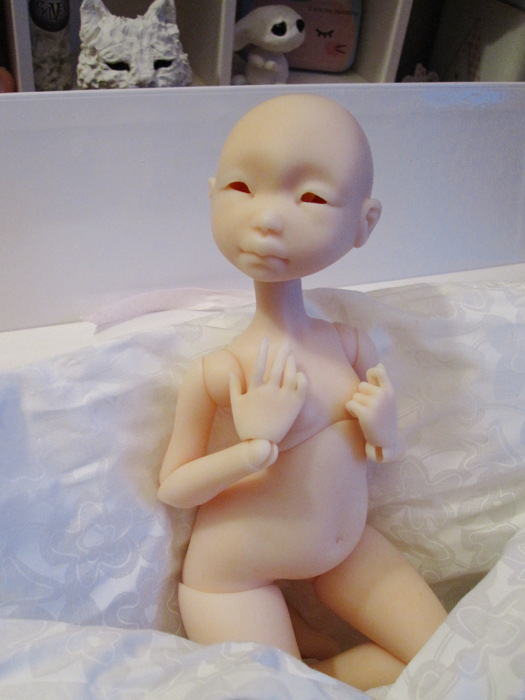 Nude, bald, eyeless, and still one of the prettiest dolls Ive ever seen